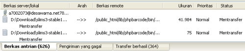 Panel List File Transfer